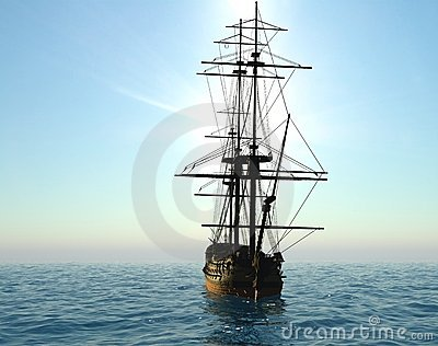 The ancient ship