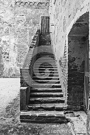 Ancient stair