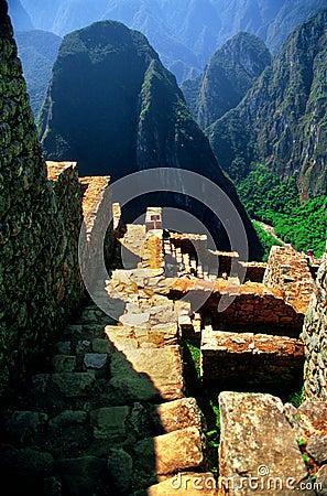 Ancient Steps Of Machu Picchu