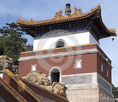 Ancient Stone Architectures in Summer Palace