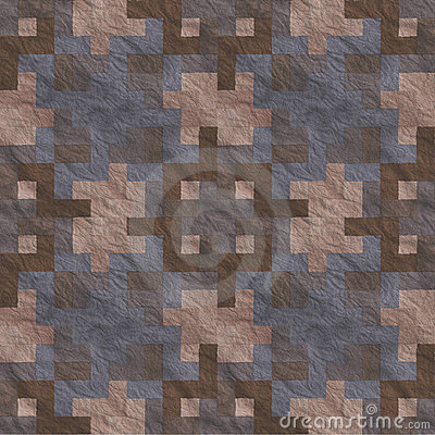 Ancient Stone Floor Seamless Pattern