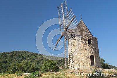 Ancient stone windmill (Horizontally)