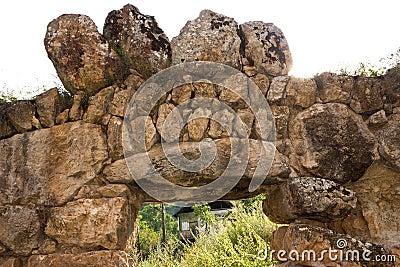 Ancient stonework.