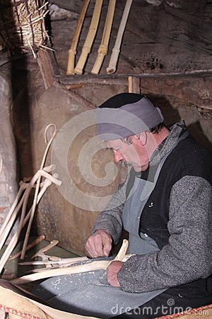 Ancient straw work Editorial Stock Image
