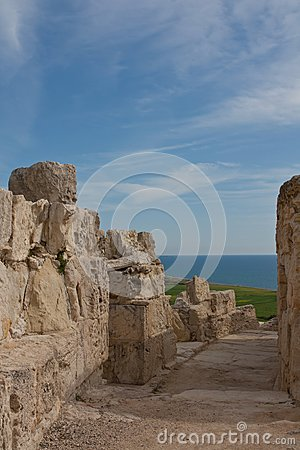 Ancient Street in Kourion