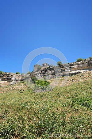 Ancient Stronghold On The Hill
