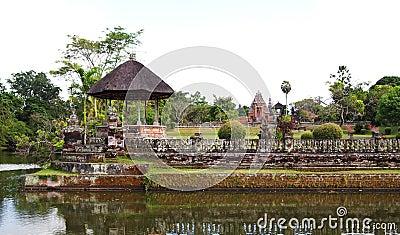 Ancient Taman Ayun palace temple, Bali