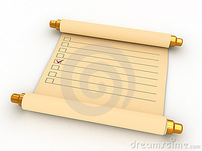 Ancient task list