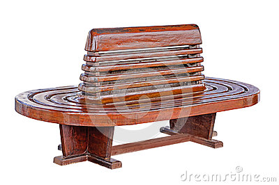 Ancient teak chairs