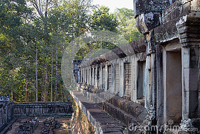 Ancient Temple Angkor Wat, Cambodia