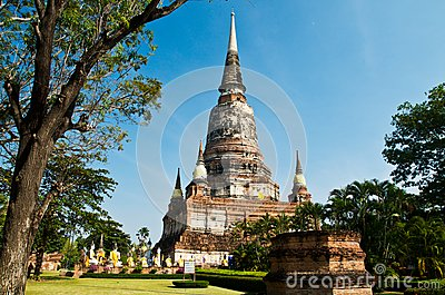Ancient temple in Ayutthaya.