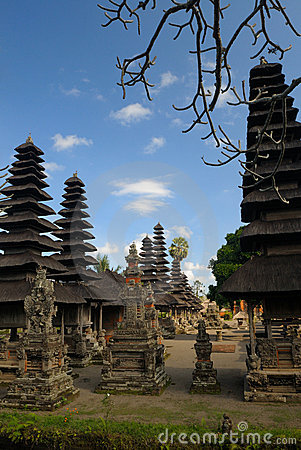 Ancient temple, Bali, Indonesia