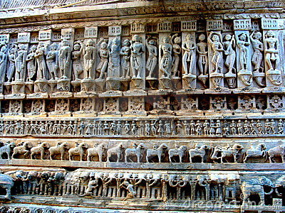 Ancient Temple Carvings