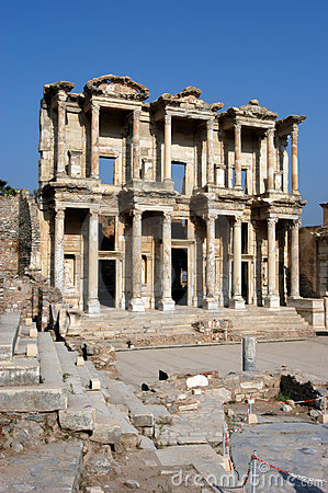 Ancient temple in Ephesus
