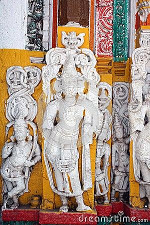 Ancient Temple Idols