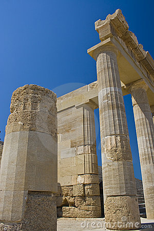 Ancient temple of Lindos