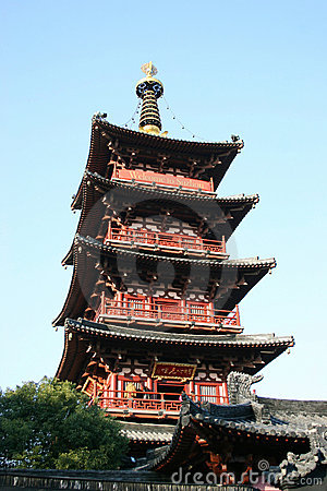Ancient temple Pagoda