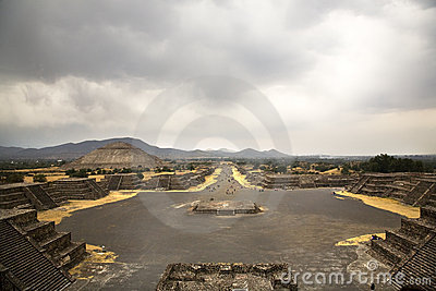 Ancient Teotihuacan in Mexico