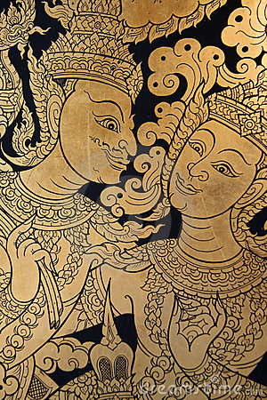 Free Ancient Thai Art Stock Photos - 2169183