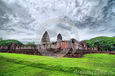 Ancient Thai Castle (HDR)