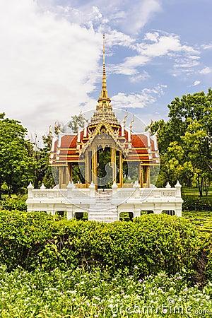 Ancient thai pavilion in thailand.