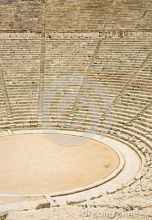 Ancient theater in Epidaurus, Greece