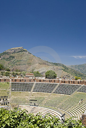 Ancient theater taormina
