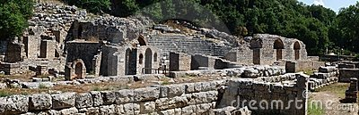 Ancient theatre at Butrint, Albania