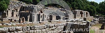 Ancient theatre at Butrint, Albania