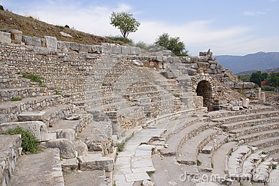 Ancient theatre, Ephesus, Turkey