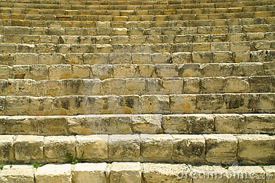 Ancient theatre in Kourion