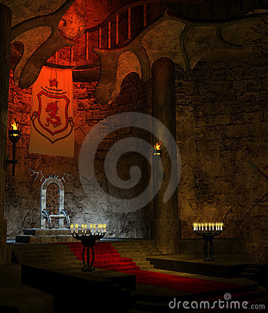 Ancient Throne Room 1 Royalty Free Stock Images - Image ...  Ancient Throne ...