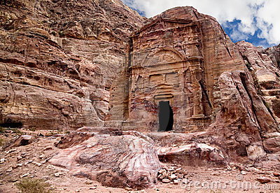 Ancient tomb in Petra