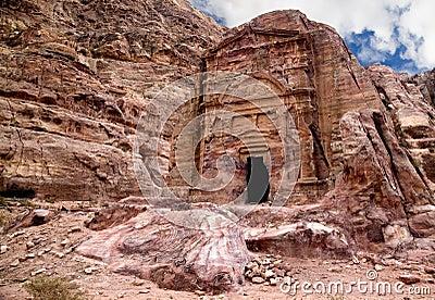 Ancient tomb in Petra