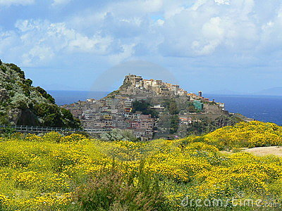 Ancient town of Castelsardo, Sardinia