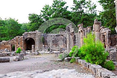 Ancient Turkish ruined city