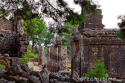 Ancient Turkish ruins