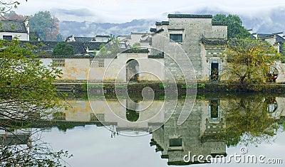 Ancient village called Hong Cun,china