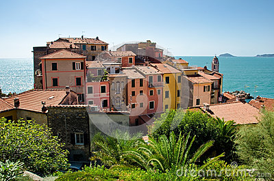 Ancient village of Tellaro, Italy