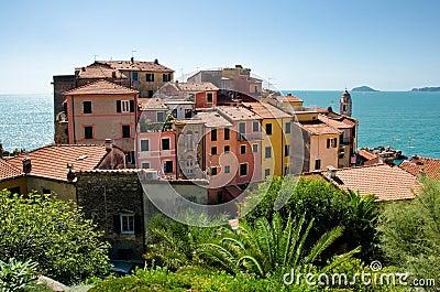 Ancient village of Tellaro, Italy