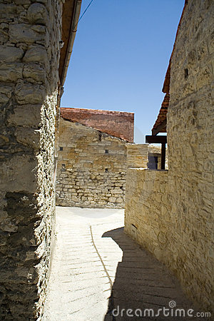 The ancient walls.