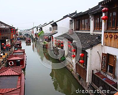 Ancient water towns-shantang suzhou