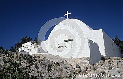 Ancient White Orthodox Church