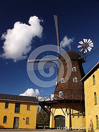 Ancient wind mills