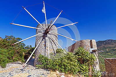 Ancient windmills of Lasithi Plateau
