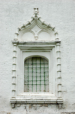 Ancient window with a lattice