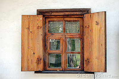 Ancient Window In Ukraine