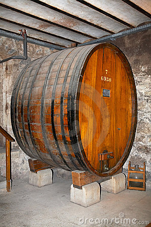 Ancient wine cask