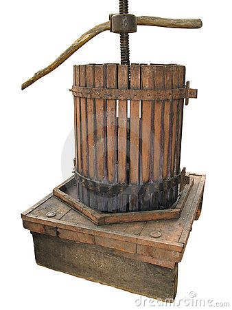 Ancient wine press