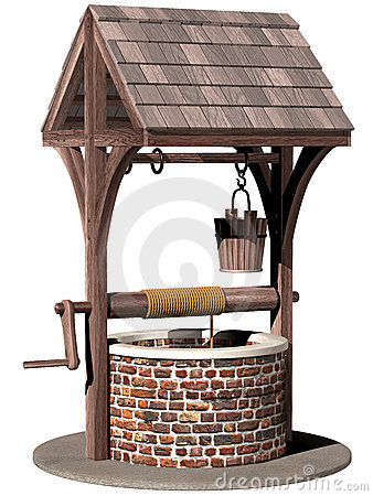 Ancient wishing well